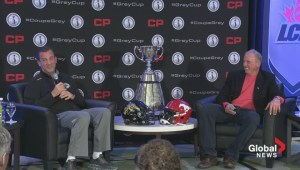"Grey Cup 2014: Head coaches answer the ""Jim Hunt Memorial Question"""