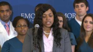 Obama urges greater action against Ebola are Dallas nurse declared cured of the virus