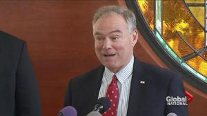 Hillary Clinton chooses Tim Kaine for VP