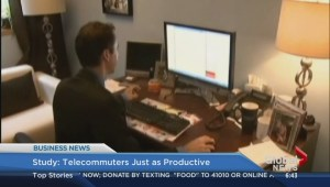 BIV: Telecommuters just as productive: study