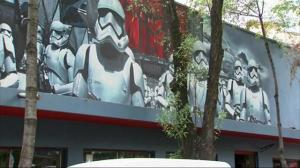 'Star Wars'-style street art turns heads in Mexico City