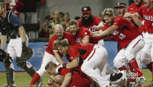 Canada men's baseball team surprise gold winners at Pan Am