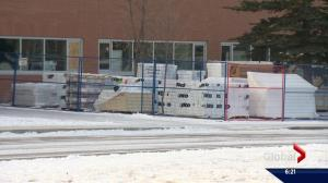 Renovation project at Okotoks high school leaves students exposed to cold: parents