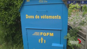 NDG clothing donation bin controversy