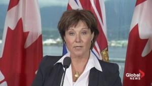 B.C. Premier wades into teachers' dispute