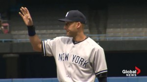 Blue Jays fans, organization bids emotional farewell to Derek Jeter