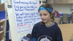 One Winnipeg school comes together to cheer the Jets on in the playoff push
