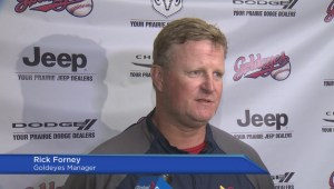 Winnipeg Goldeyes Open Training Camp