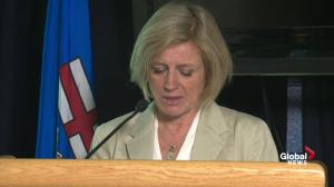 Rachel Notley provides latest update on province's efforts to combat wildfires in, near Fort McMurray