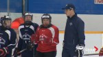 Sidney Crosby takes to the ice in Cole Harbour for 3rd annual hockey school