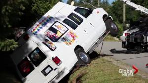 Ice cream truck driver drunk?
