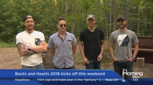 James Barker Band to perform at Boots and Hearts Music Festival