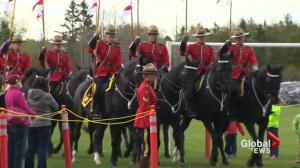 Honouring Moncton RCMP officers one year after shooting