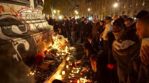 'It's about the victims': Parisians pay tribute to victims of terror attacks