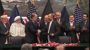 US, Afghanistan sign security pact