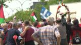 Pro-Palestinian supporters march in Montreal