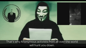 "Anonymous vows to ""hunt down"" ISIS after Paris attacks in new video"