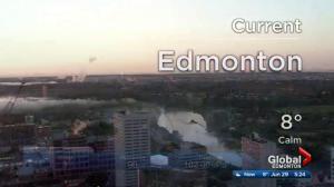 Edmonton early morning weather forecast: Thursday, June 29, 2017