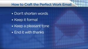 Etiquette rules and how to craft the perfect work email