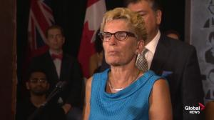 Kathleen Wynne outlines strategy for new provincial pension plan
