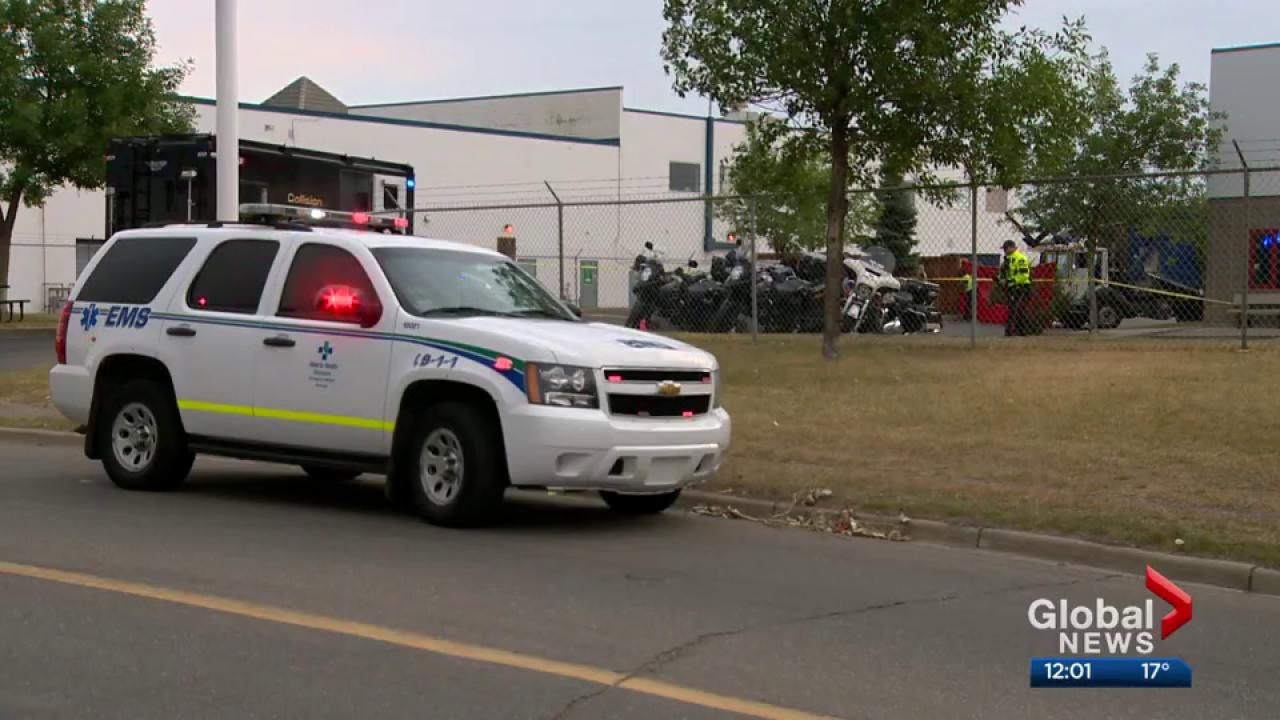Woman killed by garbage truck in northeast Calgary