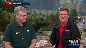 Banff National Park Field Superintendent Dave McDonough on busy summer in the park