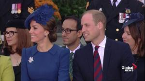 Justin Trudeau offers Prince William and Kate some parenting advice for their visit