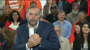 Canada not ready for 'demographic bomb': NDP Leader Tom Mulcair on senior health care