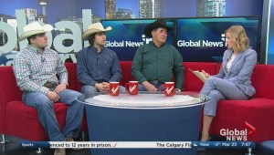 Gorst family prepares for 2017 Calgary Stampede canvas auction