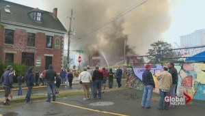 Portland Place arson