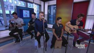 Eleven Past One perform live on The Morning Show