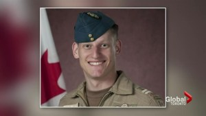 Canadian Air Force Pilot killed during training exercise laid to rest