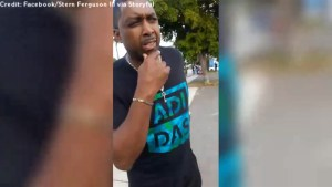 'We can't do nothing!': Father posts angry rant to social media as he flees shooting at MLK Day parade