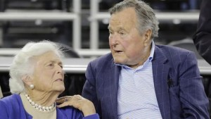 George H.W. Bush, wife admitted to hospital for respiratory problem