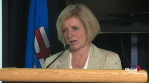 Rachel Notley says province not planning to declare a state of emergency yet over Fort Mac fires