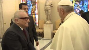 Pope Francis hold private meeting with director Martin Scorsese