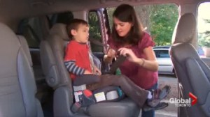 Parents moving kids out of booster seats too early