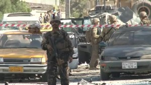Kabul rocked by Taliban car bomb