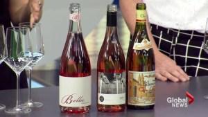 Summer rosé wines