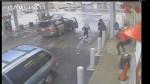 Disturbing footage of homeless man being beaten