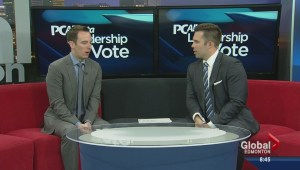 Previewing Global's Alberta PC leadership vote coverage