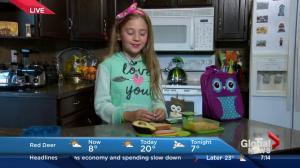 Junior Reporter: Alexia Sabau makes a back-to-school lunch