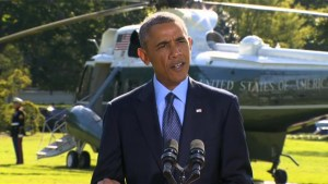 Obama: U.S. and Arab airstrikes show coalition unity