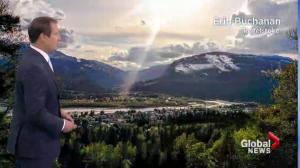 BC Evening Weather Forecast: Apr 19