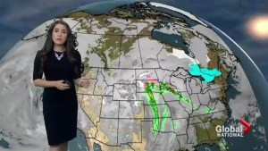 Holiday forecast across Canada