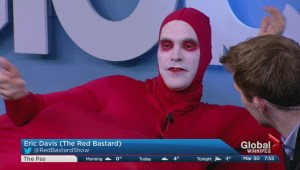 Red Bastard ready for April Fools