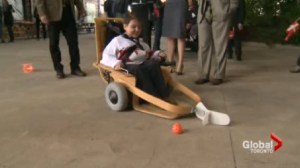 Danish Royalty brings Electric Hockey to Canada.