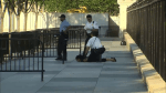 RAW: Woman arrested for jumping over White House barricade