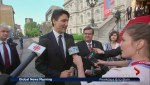 Justin Trudeau joins celebrations for Montreal's 375th anniversary
