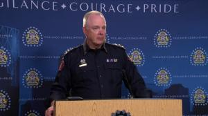 'Yes, I am concerned': Calgary police chief Roger Chaffin